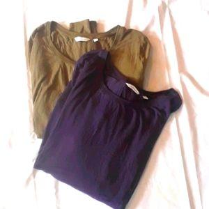 2 Ladies Long Sleeve Tops